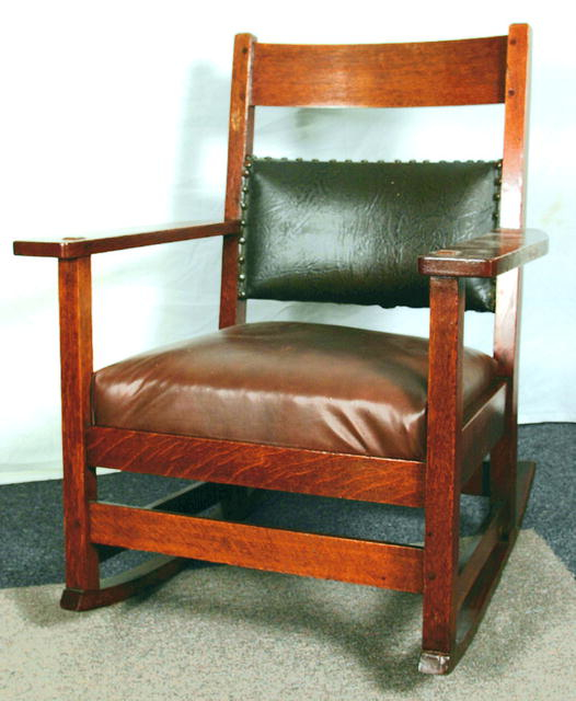 Gustav Stickley's clean, simple furniture design endures to this day.